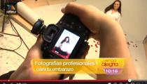 Foto embarazos en Televisión