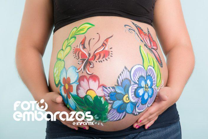 Pintura de pancita para embarazada