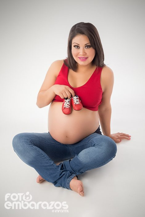 Fotografia de embarazo