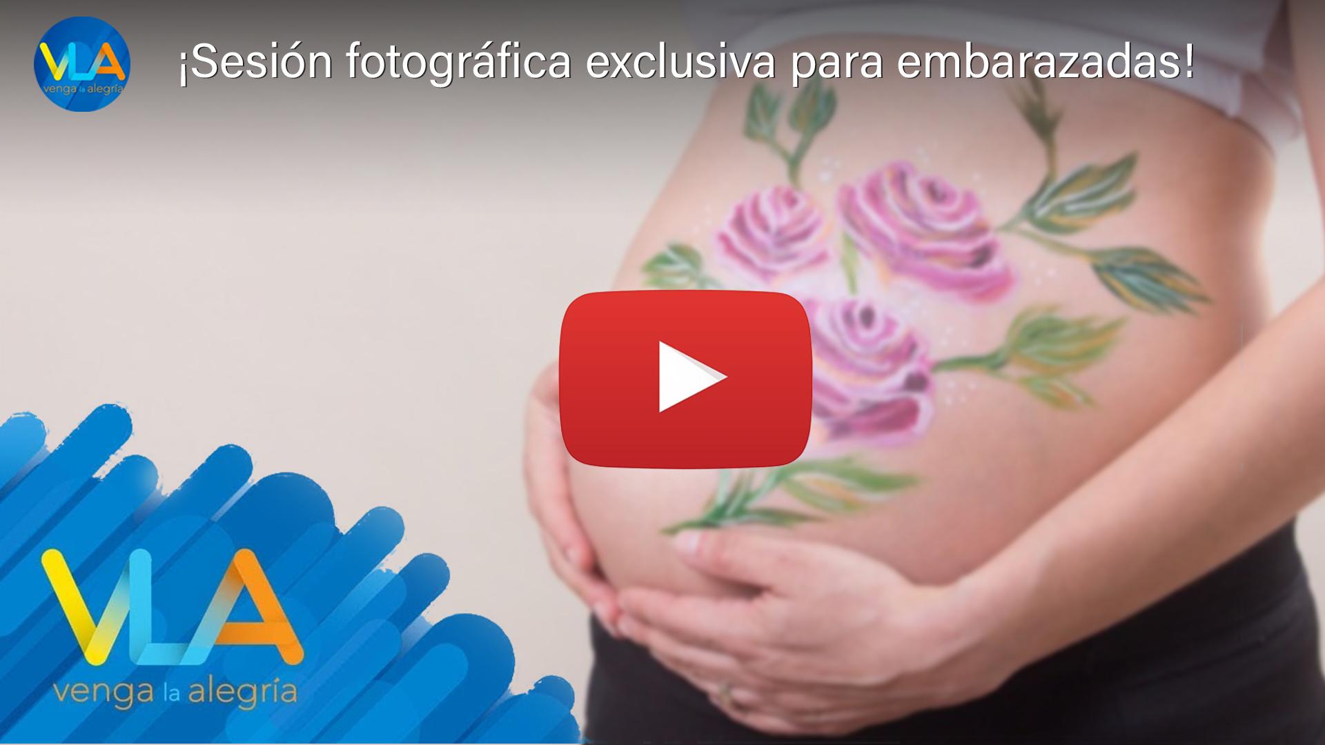 Fotografía de embarazo en VLA