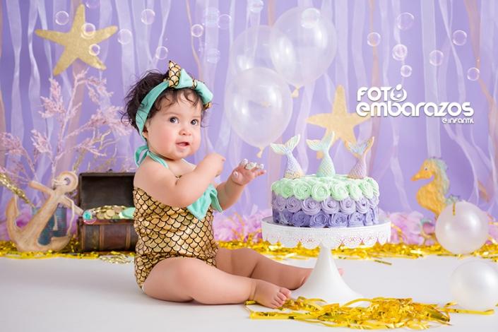 Smash cake Sirena